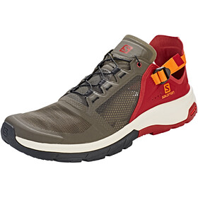 Salomon Techamphibian 4 Shoes Men beluga/russet orange/red dahlia
